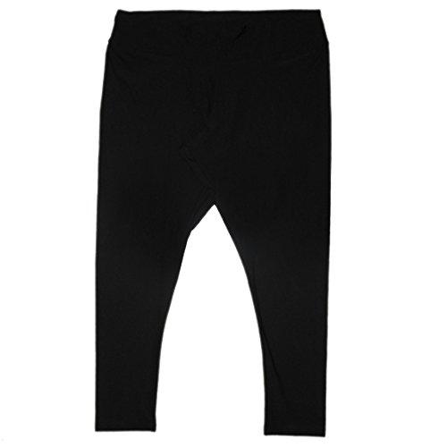 plus-size-bally-total-fitness-damen-sport-dunne-gamaschen-yoga-hose-3x-schwarz