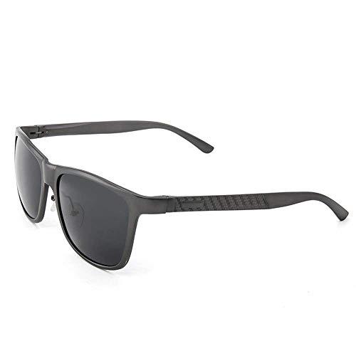 Herren Outdoor Freizeit Herren Classic Wild Driving Polarized Sport Sonnenbrille Für Herren Damen Al-Mg Metallrahmen Ultraleichte Sommer Strandurlaub Sonnenbrille (Farbe: Einfarbig, Größe: F