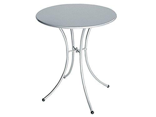 Table Pigalle rond cm. 60 Art. 905 couleur aluminium Cod. 20