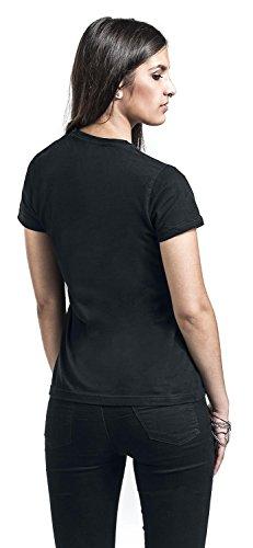 Harry Potter Solemnly T-shirt Femme noir Noir