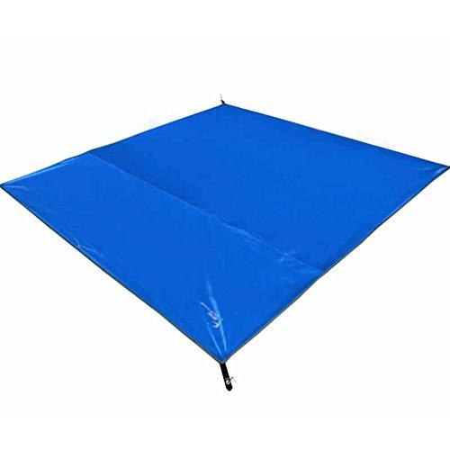 TYJ Picknick-Decken Outdoor Feuchtigkeitsbeständiges Pad Zelt Oxford Tuch Picknickmatten Wasserdichtes Blau ( Farbe : Blau , größe : 210*210CM )