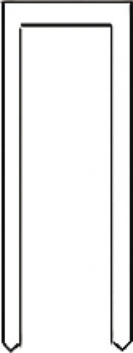 Wolfcraft 7167000 Agrafes étroites résine Type 055 18 mm Lot de 1200