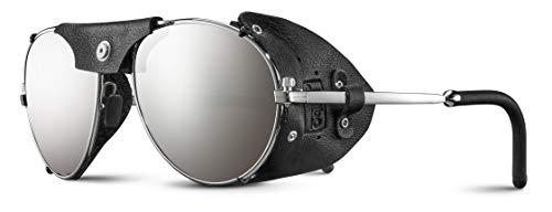Julbo Herren CHAM Sonnenbrillen, Silber/schwarz, L