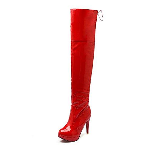 adeesu-bottes-chukka-femme-rouge-red