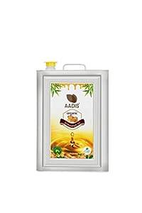 Aadis Organic Groundnut/Peanut Oil -15 Litre