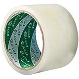 """Yardwe Cinta de reparación para Invernadero 2.36""""x 32.8ft Polietileno Parche plástico Transparente Adhesivo para Exteriores (Blanco)"""
