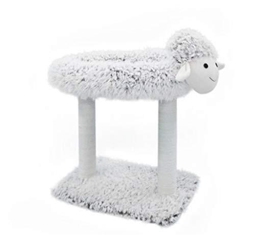 UNIQUE-F 2 in 1 Haustier-Haus und Sofa, maschinenwaschbarer Rutschfester Faltbarer weicher Warmer Hundekatzen-Welpen-Kaninchen-Haustier-Nest-Höhlen-Bett-Kratzbaum -