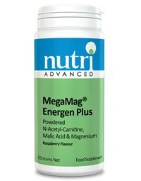 Nutri Advanced MegaMag Energen Plus – Raspberry Flavour – 225g
