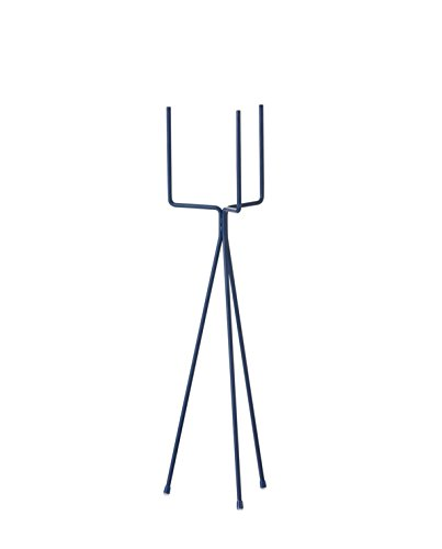 Ferm Living - Pflanzenständer Plant Stand - Blue - Low (fits Hexagon Pot L)