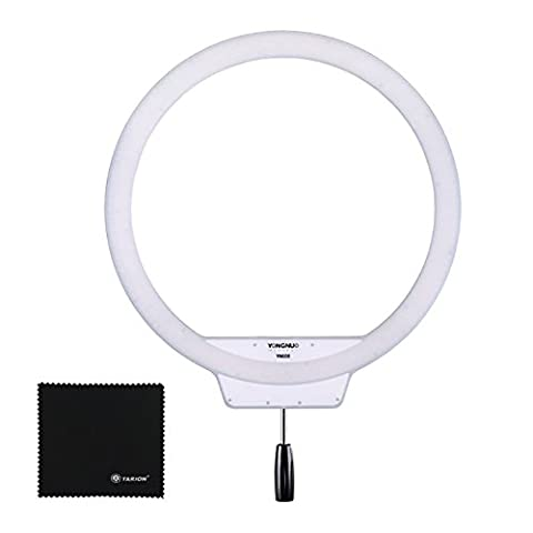 Yongnuo YN608 lampe vidéo annulaire LED 5500K pour selfie et