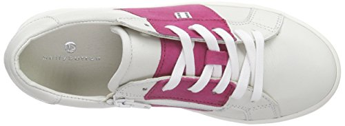 Bellybutton Sneaker, Baskets Basses fille Blanc - Weiß (bianco fuchsia)