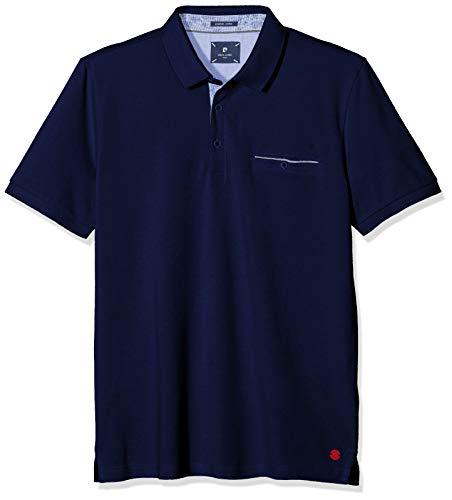 Pierre Cardin Herren Premium Cotton Pique Airtouch Poloshirt, Blau (Delta 3104), X-Large