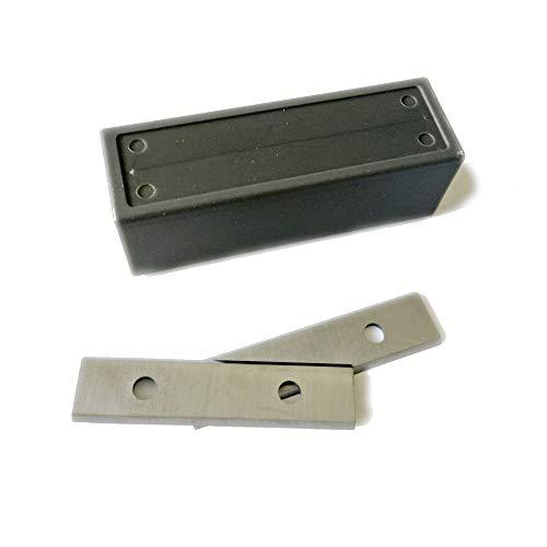 10 Stück Off – 50 x 12 x 1,5 mm TCT Hartmetall-Einsätze/Schaber/Hobelklingen für Rebate Spindel Moulder Cutterheads CMT Trend Axminster Charnwood Holzmann