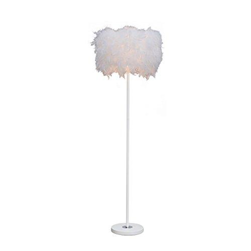 FORWIN Stehleuchte- Feder Stehlampe Schlafzimmer Lampe Hochzeit Dekoration Lampen Innenbeleuchtung -