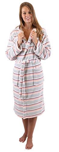 Betz Albornoz Bata Bata de sauna con capucha para mujeres y hombres VIENA de color gris Tamaño S/M