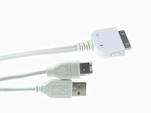 PremiumCord iPod zu USB + Firewire-Kombinationskabel 2m (Firewire Apple Von)