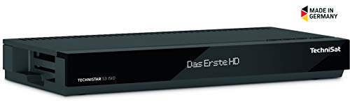 TechniSat Technistar S3 ISIO HD Sat Receiver (HDTV, DVB-S2, HDMI, Scart, Smart TV, Aufnahmefunktion, App-Steuerung, Live-TV-Streaming, USB 2.0, LAN)
