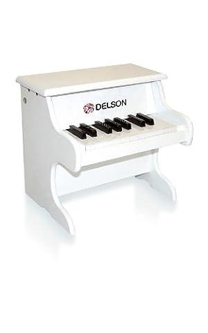 Delson 1822W Piano pour bébé Blanc