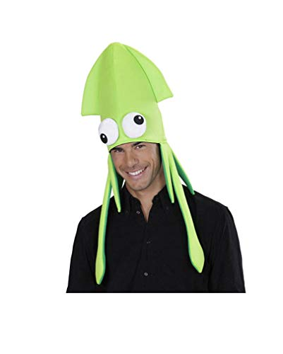 Horror-Shop Kraken Hut grün