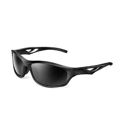 Vaycally Polarisierte Sport-Sonnenbrille UV400 Schutz Radfahren Brille mit 1 x polarisierten Testbogen, Linsen für Radfahren, Baseball, Angeln, Skifahren, Laufen