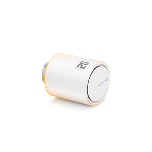 Netatmo NAV-IT Valvola Intelligente Aggiuntiva per Termosifoni, Multicolore