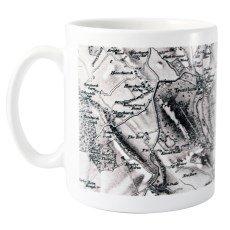 Personalised 1805 - 1874 Old Series Map Mug - Personalise by postcode