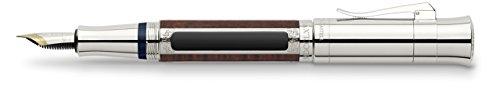Graf von Faber-Castell Pen of the year 2016 Platiniert, Onyx, Feder F