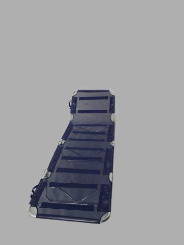 Maffei Art 1310 Brenda. Bain de soleil aluminium pliant à 4 sections, avec bandoulière, tissu Textilene. Couleur bleu