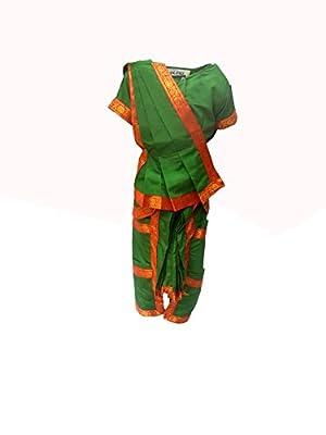 KFD Kids Bharatnatyam Indian Dance Traditional Wear Costume & fancy dress