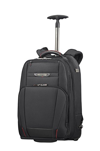 samsonite pro-dlx 5 - wheeled backpack for 17.3 laptop 2.6 kg zaino casual, 48 cm, 28 liters, nero (black)