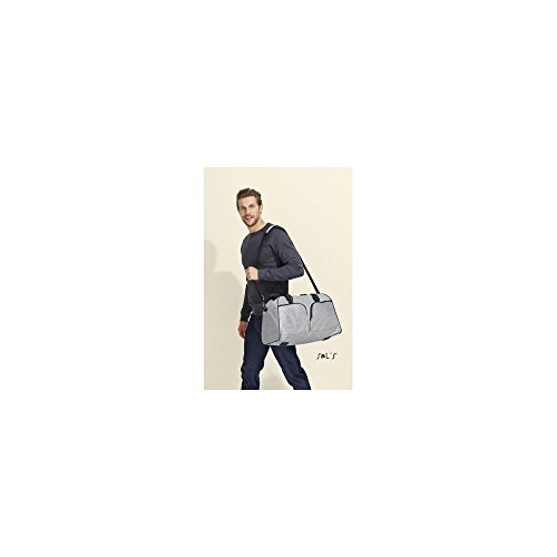 Travel bag Hudson grigio melange