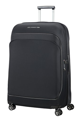 SAMSONITE Fuze - Spinner 76/28 Expandable Bagage cabine, 76 cm, 95,5 liters, Schwarz (Spinner Leichtes Hartschalen)