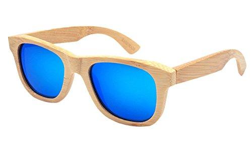 Insun Herren Sonnenbrille Mehrfarbig Mehrfarbig Gr. Einheitsgröße, Mehrfarbig - 2018MC4 Wood Frame