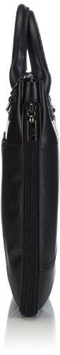 Mandarina Duck - Alphaduck Cartella Black, Borsa A Tracolla da donna Nero(Noir (Black 651))