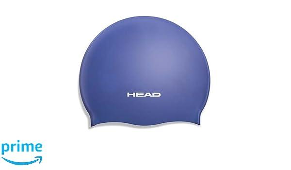 6c2be6e9c28a Head Silicone Moulded nuoto cuffia Cuffie Royal Cap Silicone Moulded Sport  e tempo libero