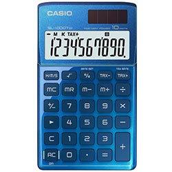 Galleria fotografica Calcolatrice tascabile con custodia a portafoglio - Blue