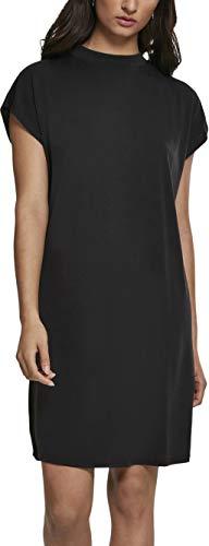 Urban Classics Damen Ladies Modal Dress Kleid, Schwarz (Black 00007), 46 (Herstellergröße: 3XL) -