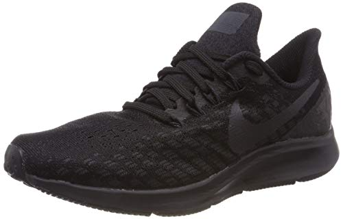 Nike Air Zoom Pegasus 35, Scarpe da Ginnastica Basse Uomo, Multicolore (Black/Oil Grey/White 002), 43 EU