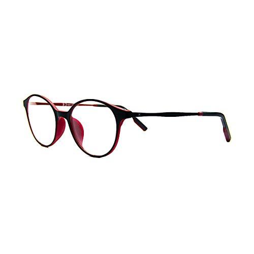 PIXEL LENS CHERRY - BILDSCHIRMBRILLE Für PC, TV, Tablet, GAMING. Gegen Ermüdung der Augen, Gesteigerter Sehkomfort, Ultraleichtes Brillengestell STAHL-TR90, Zertifizierte Blaulichtreduzierun