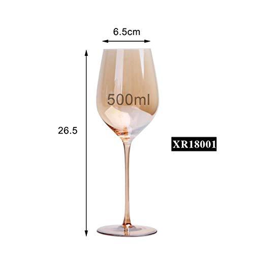 FeiKe 1000 ML Große Karaffe Handgemachte Kristall Rotwein Brandy Champagner Gläser Karaffe Flasche Krug Ausgießer Belüfter Für Familie Bar, 01