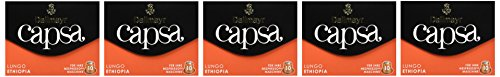 Dallmayr Kaffee capsa Lungo Ethiopia Kaffeekapseln, 5er Pack (5 x 56 g)