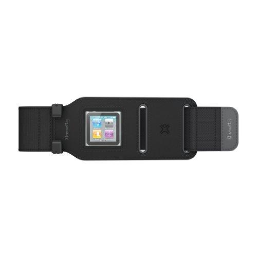 XtremeMac IPX-SWP-13 Sportwrap Sport-Armband für Apple iPod Nano 6G schwarz Sportwrap Armband