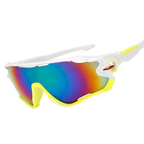 NDY Brille Sport Winddicht Reiten Outdoor Motocross Sonnenbrille Skibrille reflektierende explosionsgeschützte Sonnenbrille,C