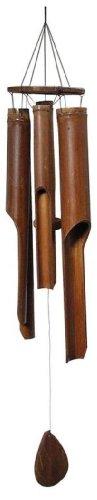 Carillón Campanas de Viento Madera de Coco y Bambú Hecho a Mano