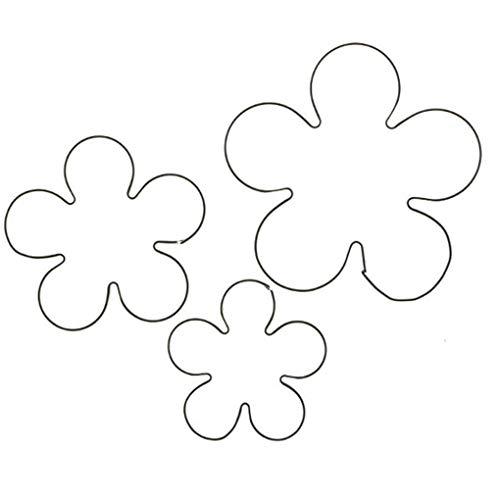 Zerama 3pcs Rose Petal Cutter Edelstahl DIY Blumen-Fondant-Kuchen-Formen - Petal Rose Cutter