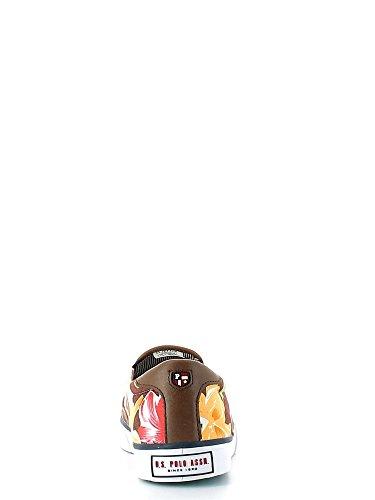 Noi Uomo Multicolore Marrone Leroyhonoluludkrepink Assn Polo Assn Brun Homme Leroyhonoluludkrepink Us Tessuto Multicouleur Polo Pantoufle Pantofola Tissu Zx7Axtq