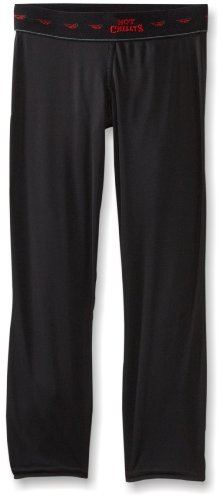 Base Layer Thermo Boden (Hot Chillys Kinder Peachskins Funktionshose, Schwarz, L)