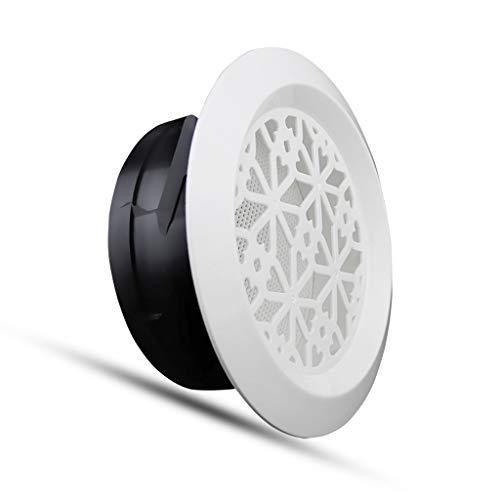 Wandlüfter QIQIDEDIAN Abluftventilator Lüftungsventilatorauslass ABS Fancy Louver Vent Einlassklimaanlage Vent (Size : 200mm) -
