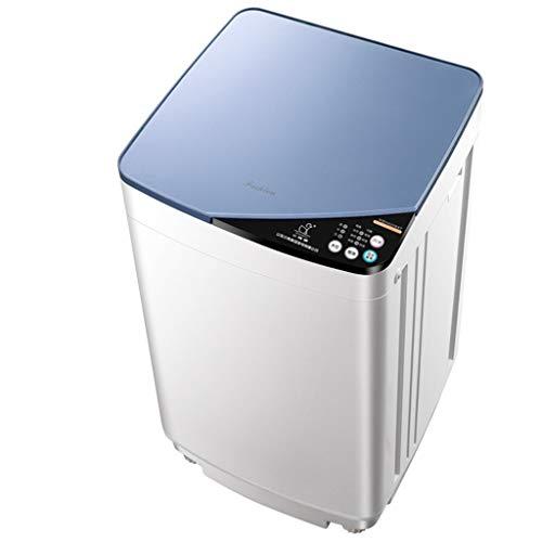 FIOFE Babywaschmaschine, Vollautomatische Wäsche, 4,2 Kg Waschen Und Dehydrieren, Blaulichtreinigung, Sicherheitskindersicherung, Energiesparend Und Geräuscharm, Platzsparend, Blau, Unterwäsche