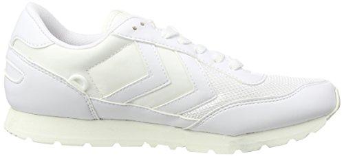hummel REFLEX TOTAL TONAL Unisex-Erwachsene Sneakers Weiß (White 9001)